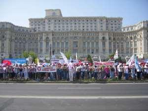manifestatie 15 iunie parlament