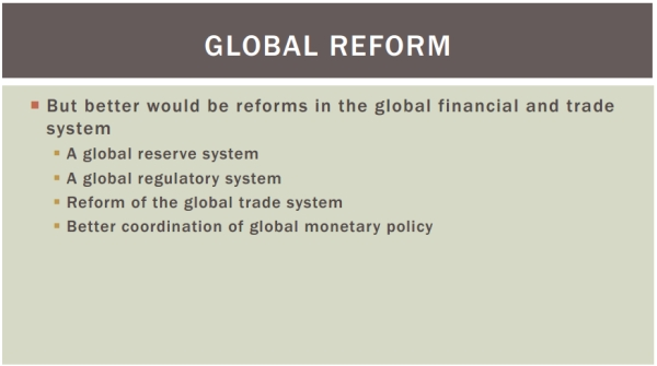 stiglitz presentation about global economy